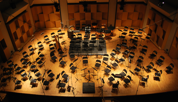 Live concert recording classical music